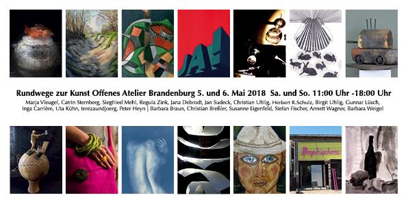 Wege zur Kunst Offenes Atelier 2018