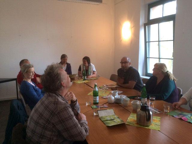 2. Gesprächsrunde mit Landratskandidaten @ Gemeindehaus Lüdersdorf