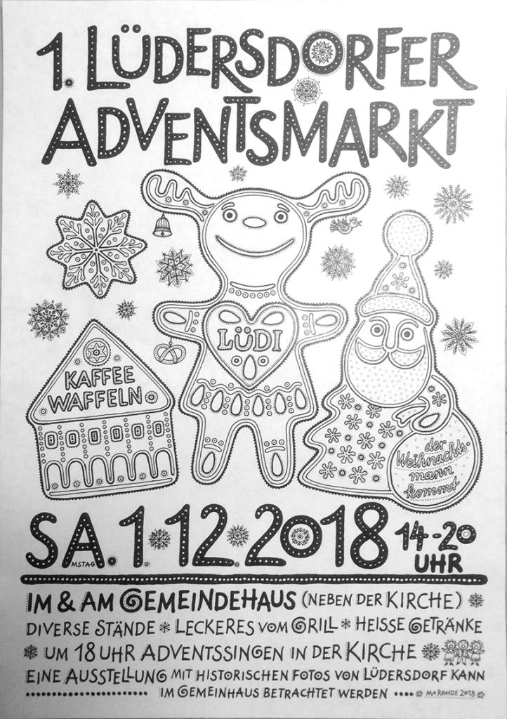 1. Lüdersdorfer Adventsbasar 2018