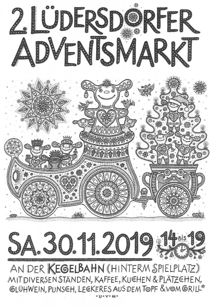 Adventsmarkt Lüdersdorf 2019
