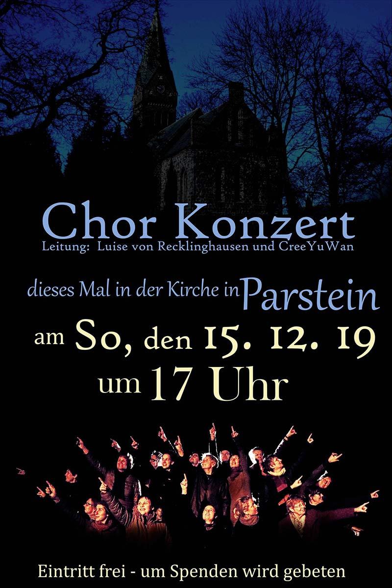 Chorkonzert @ Kirche Parstein
