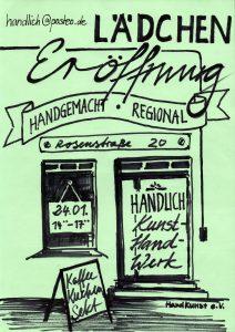 Eröffnung Laden für Kunsthandwerk @ Angermünde